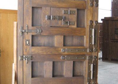 puerta rustica trasera